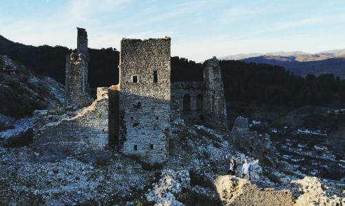 Kelcyra Castle in Albania | Follow This Route Up the Mountain