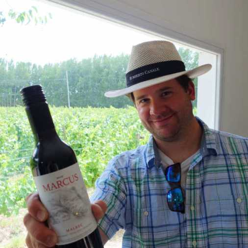 Marcus Humberto Canale Best Patagonia Wine Tour