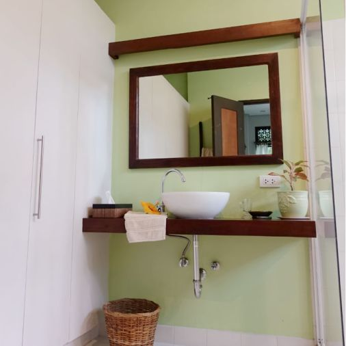 Pangloa and Bohol Island La Casita de Baclayon Bathroom