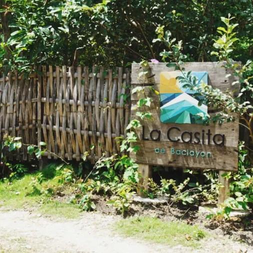 Pangloa and Bohol Island La Casita de Baclayon Entrance