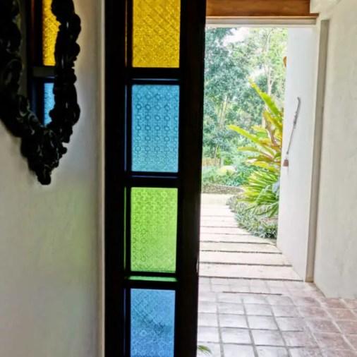 Pangloa and Bohol Island La Casita de Baclayon front door