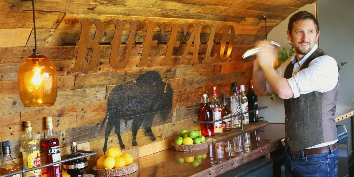 The Buffalo Vintage Airstream Wedding Bar