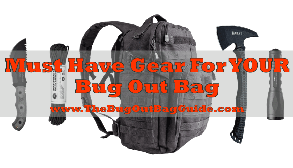 Bug Out Bag List (essentials + more!)