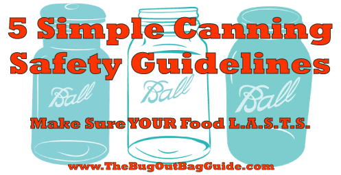 canning safety guidelines