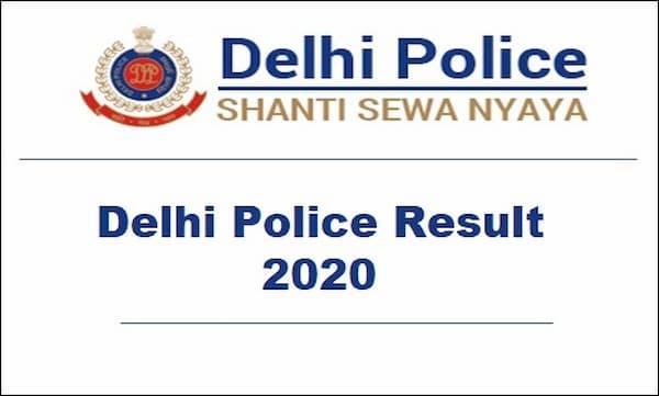 Delhi Police Result 2020