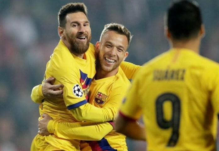 Barcelona beats Slavia Prague and adds key points in the Champions League