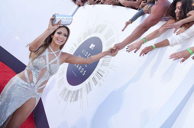 Jennifer Lopez at the 2014 MTV Video Music Awards on Aug. 24, 2014