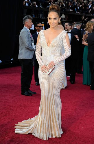 Jennifer Lopez at the 84th Annual Academy Awards on Feb. 26, 2012