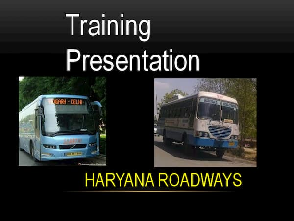 Haryana roadways training