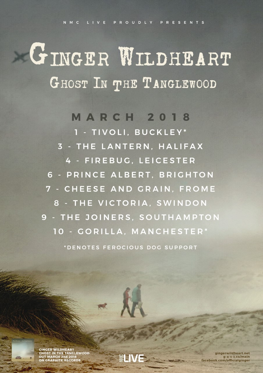 Gig preview: Ginger Wildheart's Ghost spooks Swindon