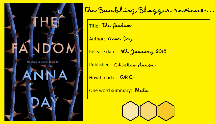 Review: The Fandom by Anna Day