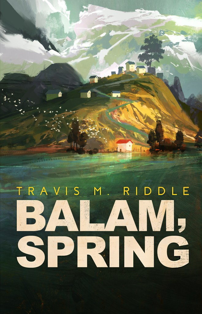 Balam Spring by Travis M. Riddle cover reveal