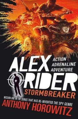 Stormbreaker by Anthony Horowitz cover