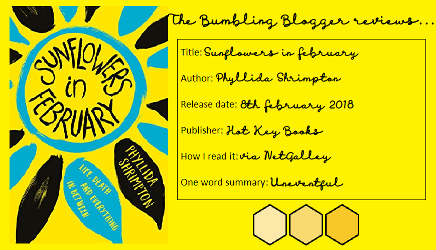 Review: Sunflowers in February by Phyllida Shrimpton