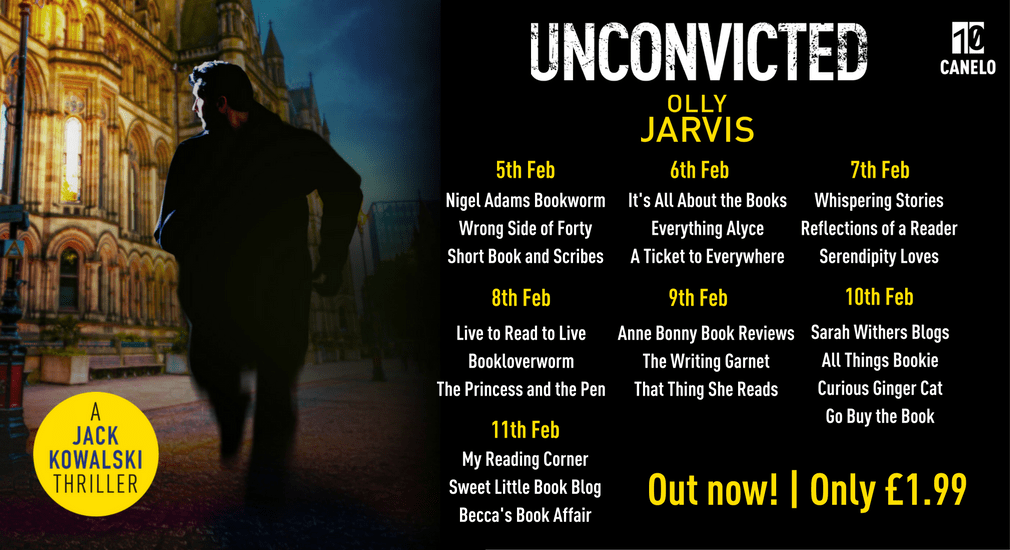 Spotlight: Unconvicted by Olly Jarvis