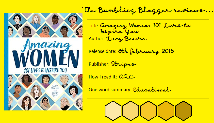 Amazing Women by Lucy Beevor review header
