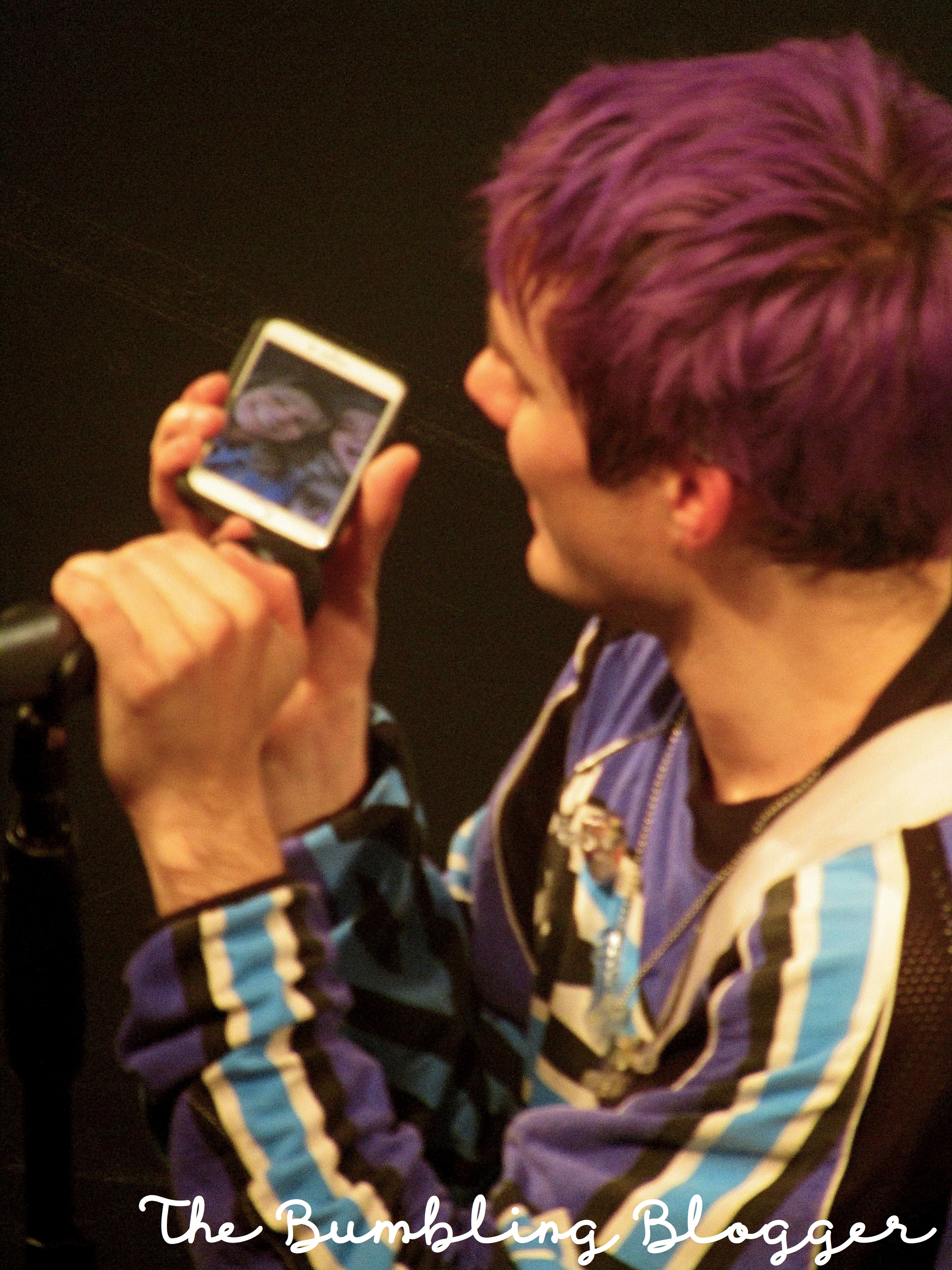 Awsten Knight phoning home