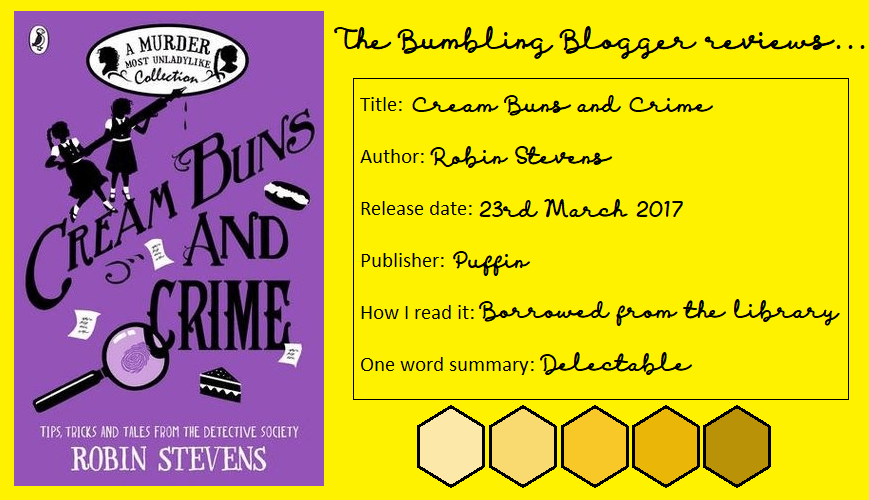Review: Cream Buns and Crime by Robin Stevens