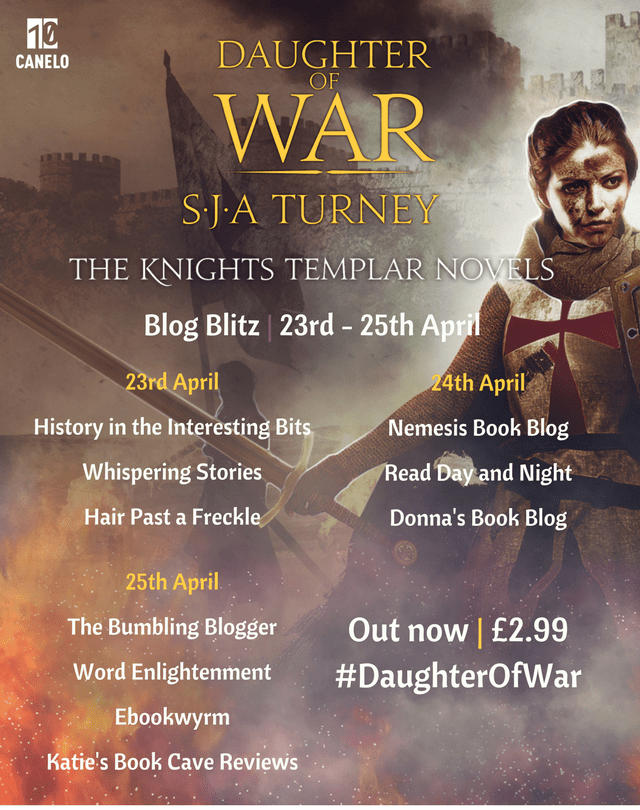 Blog tour: Daughter of War by S.J.A. Turney