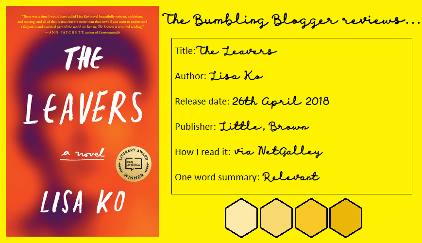 The Leavers by Lisa Ko review header