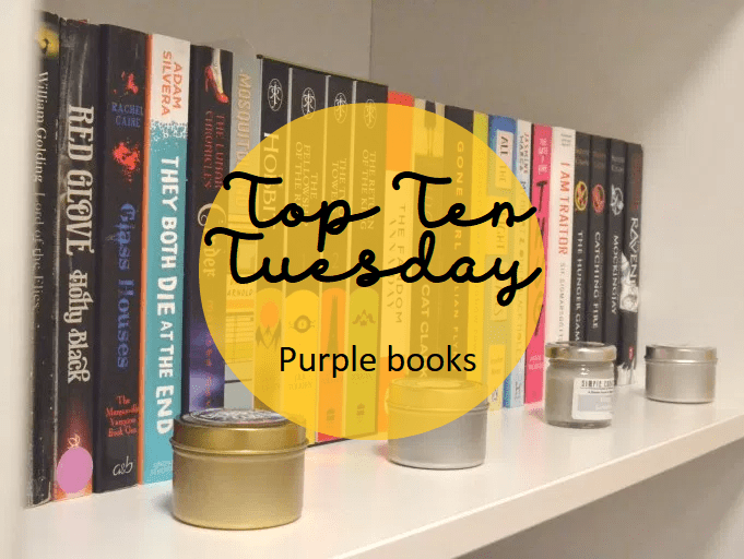 Top Ten Tuesday: Purple books