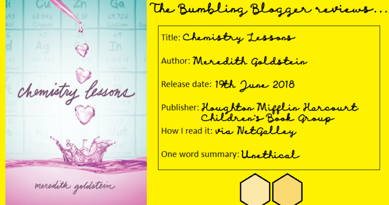 Review: Chemistry Lessons by Meredith Goldstein