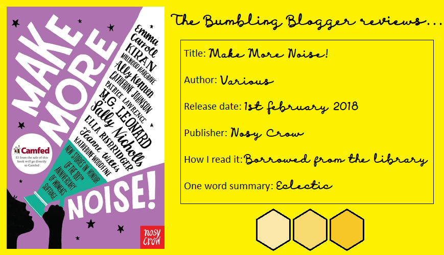 Review: Make More Noise! anthology
