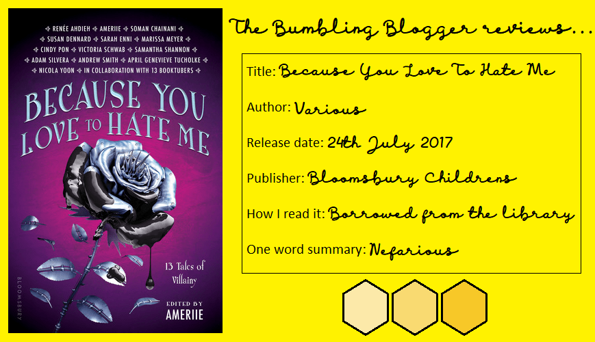 Review: Because You Love To Hate Me anthology
