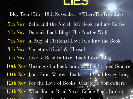 Blog tour: Where The Truth Lies by M.J. Lee