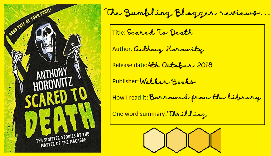 Review: Scared To Death by Anthony Horowitz