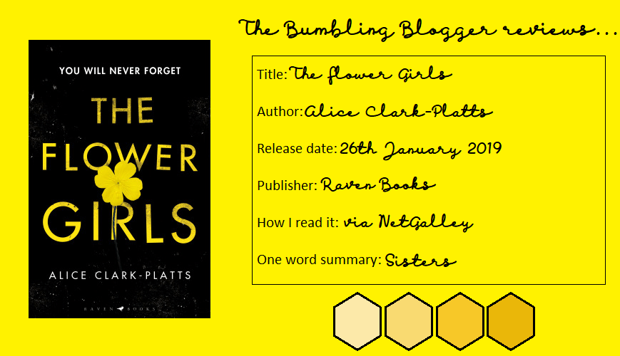 Review: The Flower Girls by Alice Clark-Platts