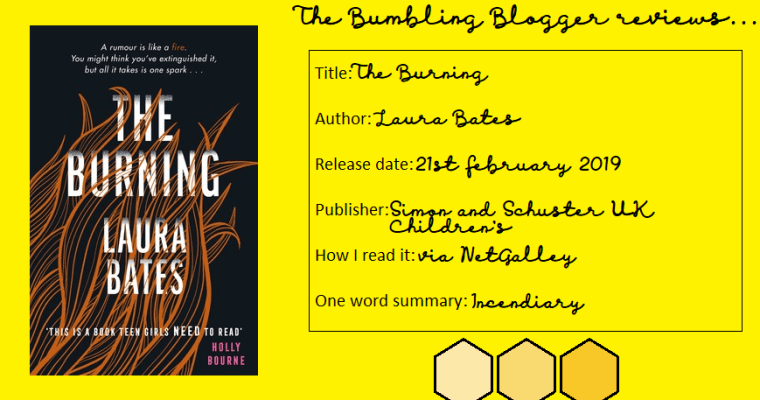 Review: The Burning by Laura Bates