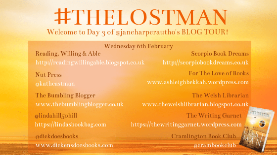 Blog tour: The Lost Man by Jane Harper