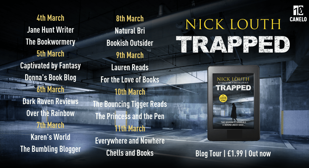 Blog tour: Trapped by Nick Louth