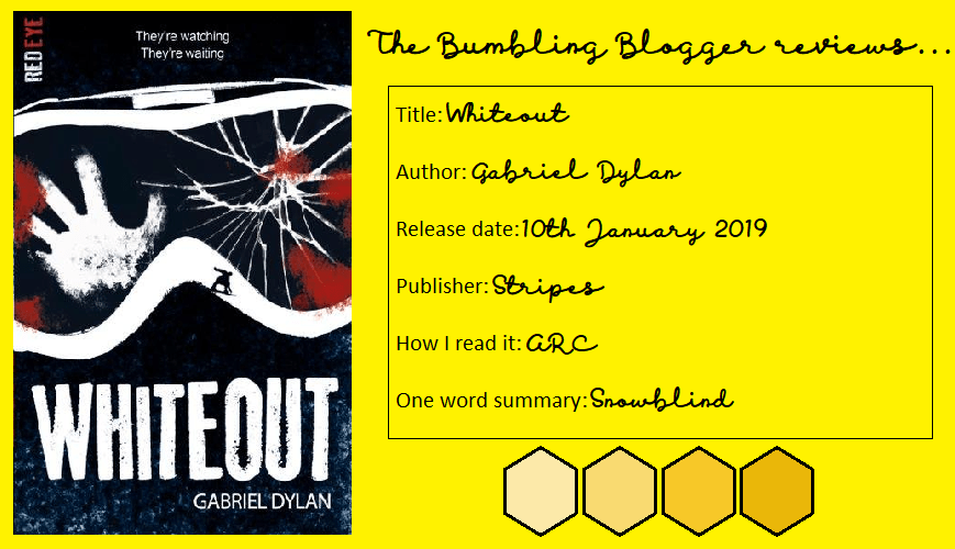 Whiteout by Gabriel Dylan review header