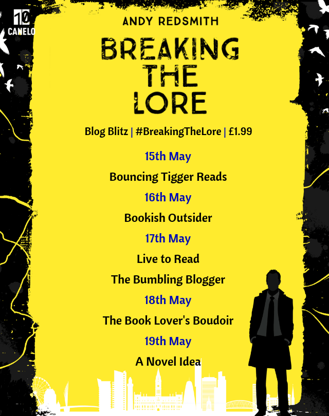 Blog tour: Breaking the Lore by Andy Redsmith