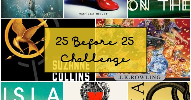 25 books I'm going to read before I'm 25