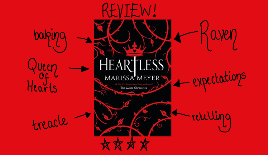 Book review: Heartless by Marissa Meyer