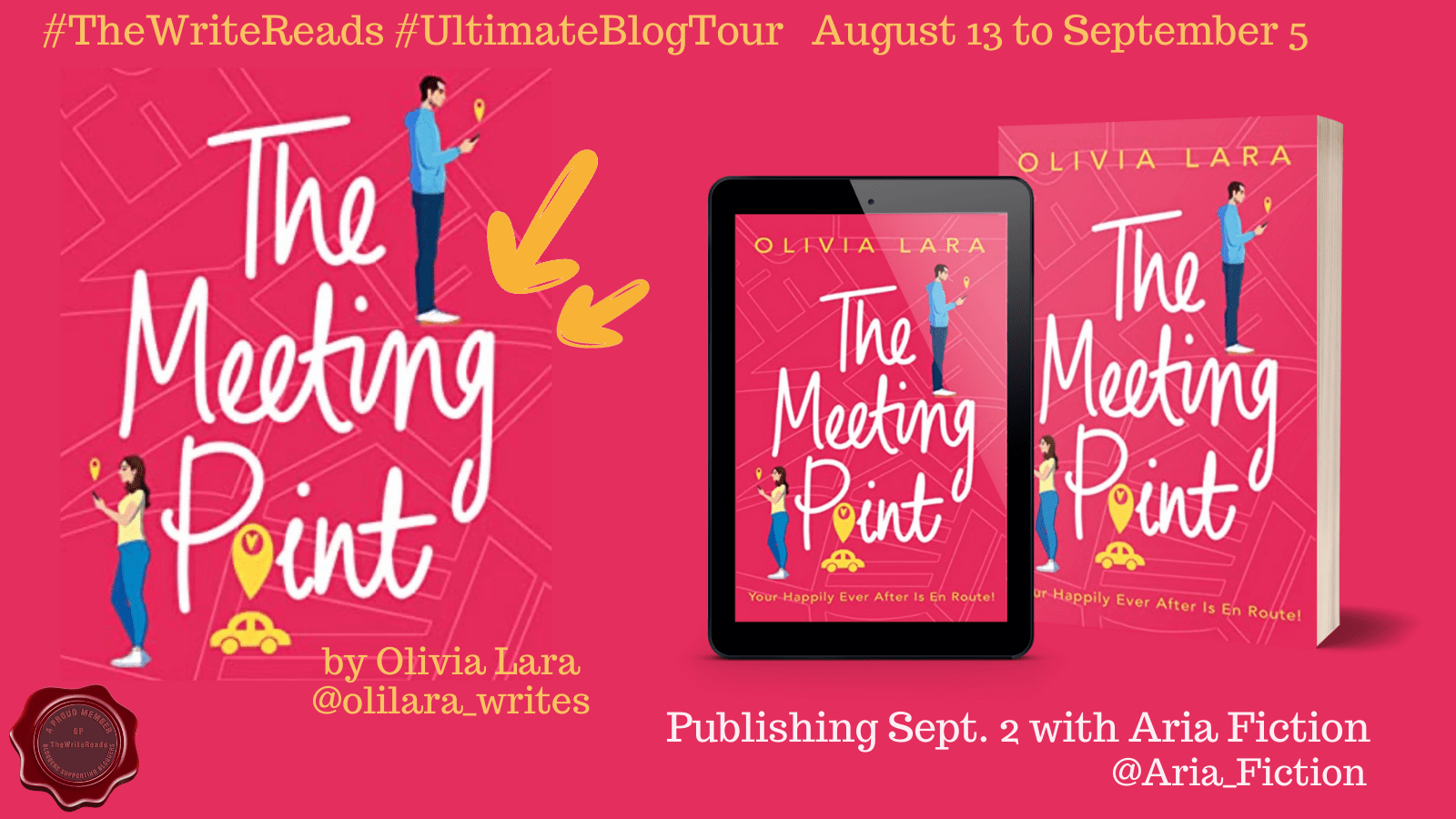 BLOG TOUR: The Meeting Point by Olivia Lara