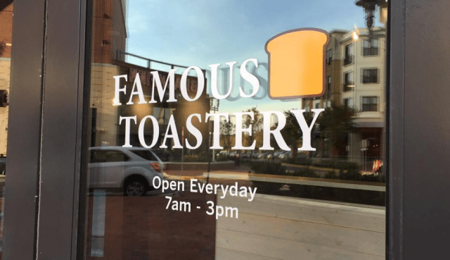 Photo: Famous Toastery Ashburn