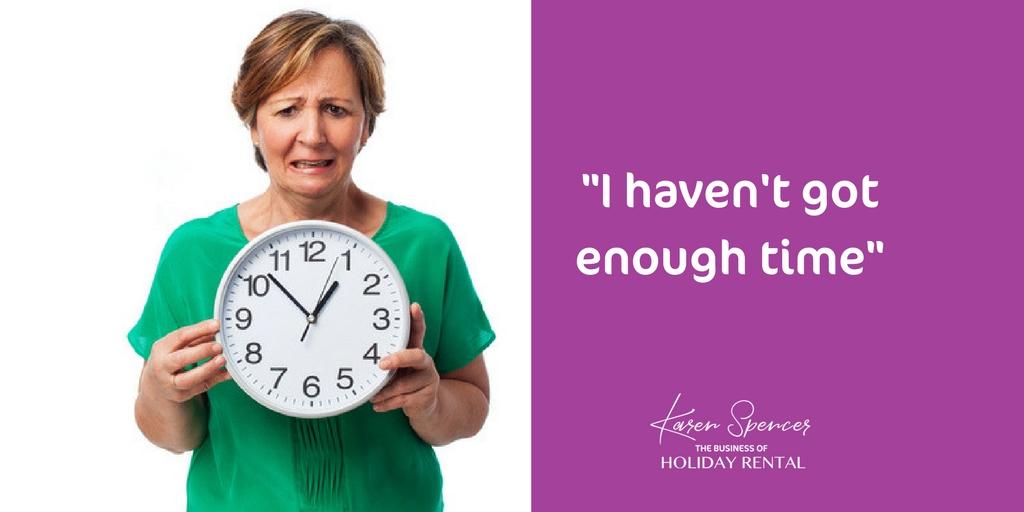 I Haven't Got Enough Time