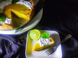 eggless lemon tart
