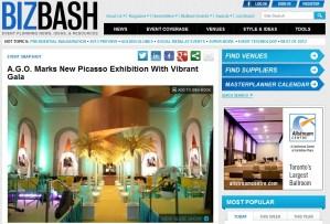 AGO Picasso Exhibit Gala