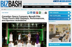Canadian Opera Company Operanation Benefit
