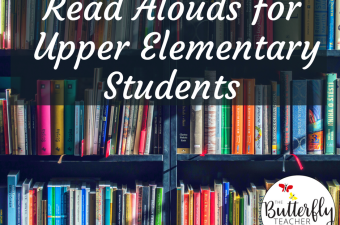 Read Alouds for Upper Elementary Students