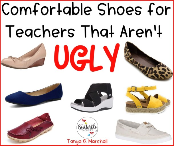 03017c3d44d56 Comfortable Shoes for Teachers That Aren't Ugly | The Butterfly Teacher