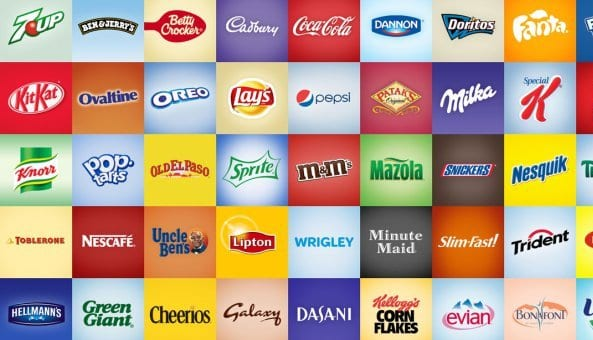 the image shows various brands which have undergone rebranding