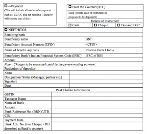 Filling Form GST PMT-06B for company, startup, proprietor, proper