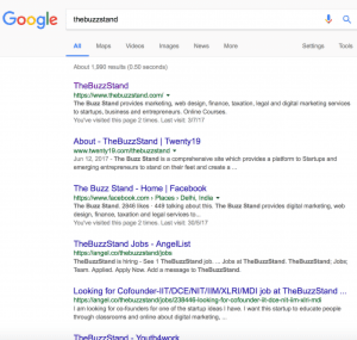 This image helps us explain how on page seo can be done using meta title, meta description and meta keywords as a part of inbound marketing certification course