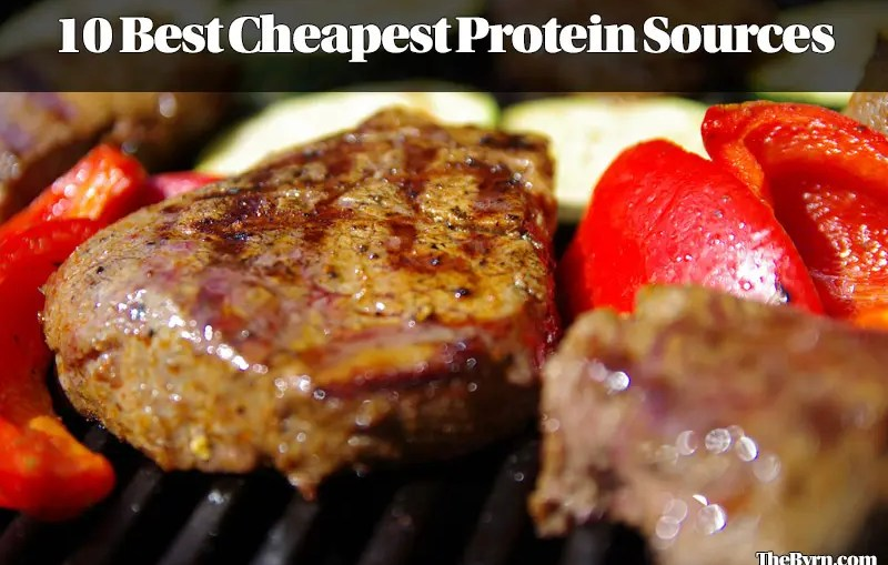 10 Best Cheapest Protein Sources